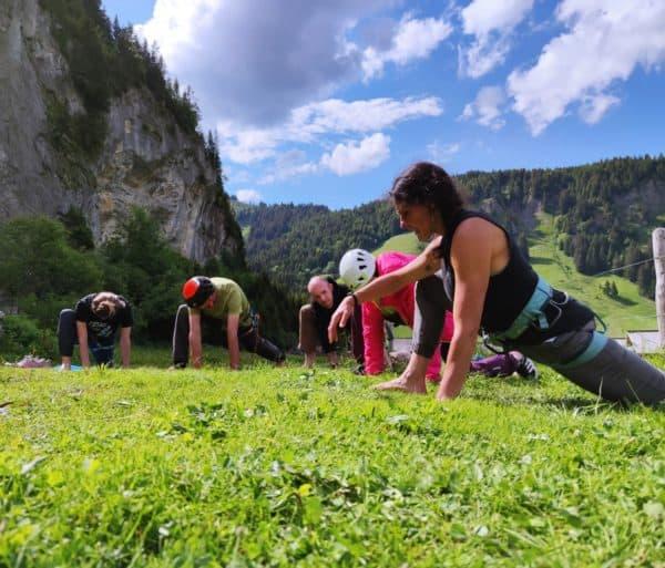 yoga pour grimpeur